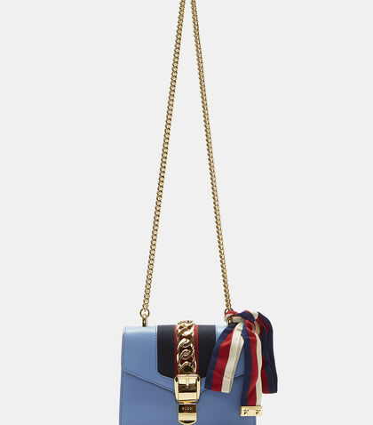 Sylvie Chain Mini Shoulder Bag by Gucci