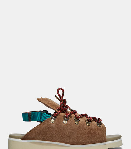 Chunky Suede Hiking Sandals by Kolor