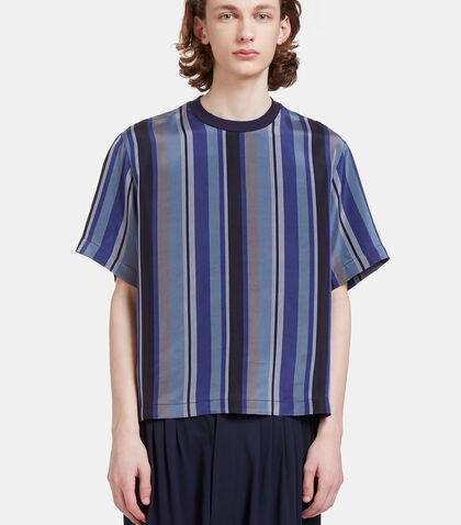 Delila Oversized Striped T-Shirt by Mohsin