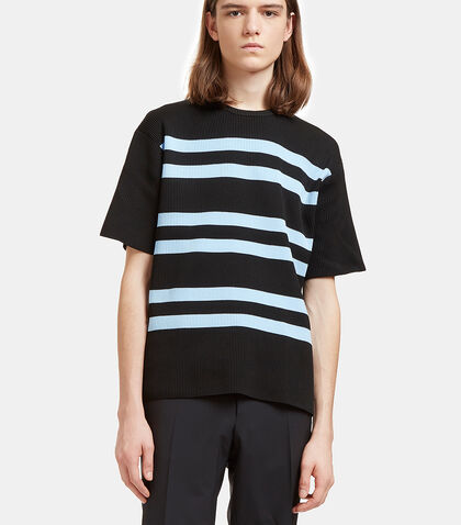 Keris Striped Rib T-Shirt by Acne Studios
