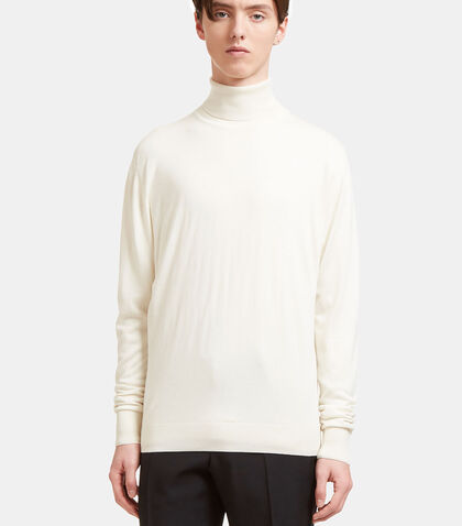 AIEZEN Cashmere and Silk Roll Neck by Aiezen