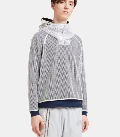 Climachill Layered Mesh Hoody by Adidas By Kolor
