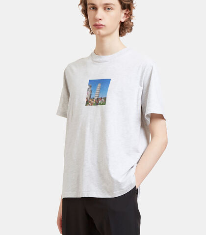 Pisa Crew Neck T-Shirt by Sunnei
