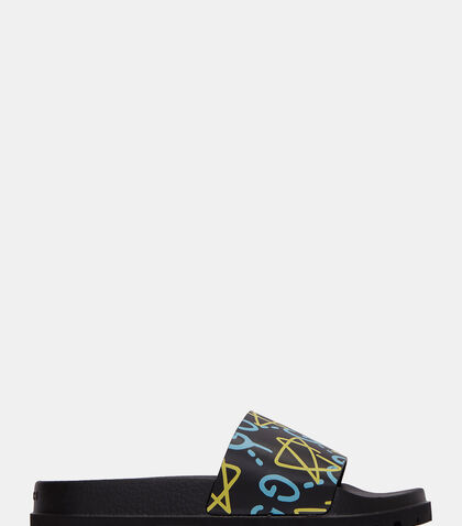 GUCCIGHOST® Slip-On Sandals by Gucci