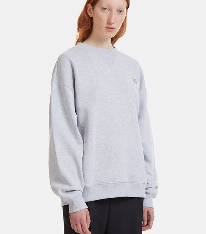 Yana Face Crew Neck Sweater by Acne Studios