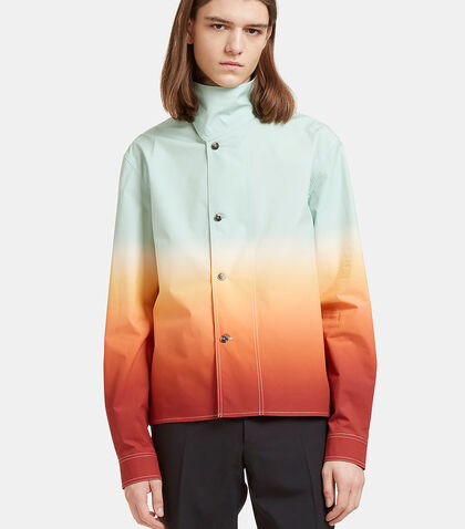 Ombré Shirt Jacket by J.W. Anderson