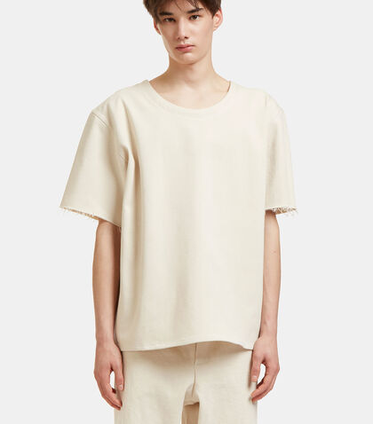 Oversized Raw-Edged T-Shirt by Camiel Fortgens