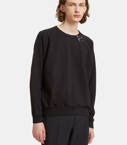 Moon Star Raglan Sleeved Sweater by Saint Laurent