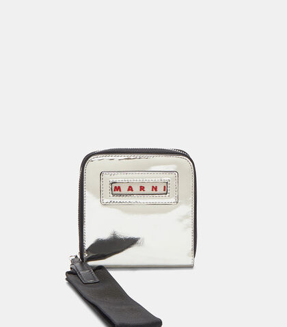 Zipped Mirrored Wallet by Marni