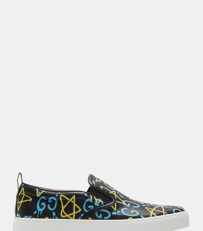 GUCCIGHOST® Slip-On Sneakers by Gucci