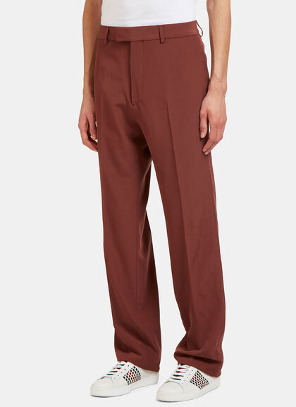 Buy Vintage Wool Tailored Pants by Gucci men clothes online