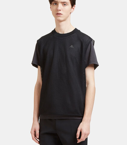 Climachill Layered Mesh T-Shirt by Adidas By Kolor
