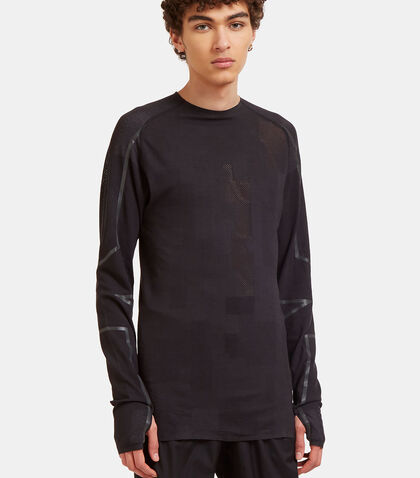 Merino Mesh Long Sleeved T-Shirt by Y-3 Sport