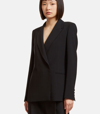 Oversized Double -Breasted Blazer by MSGM