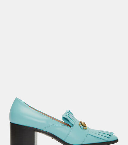 Heeled Horsebit Loafers by Gucci