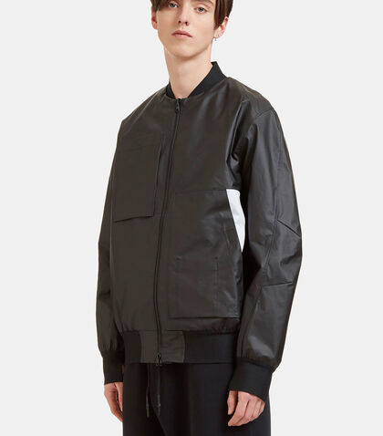Rubberised Bomber Jacket by Y-3