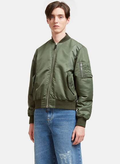 Buy Satin Bomber Jacket by J.W. Anderson men clothes online