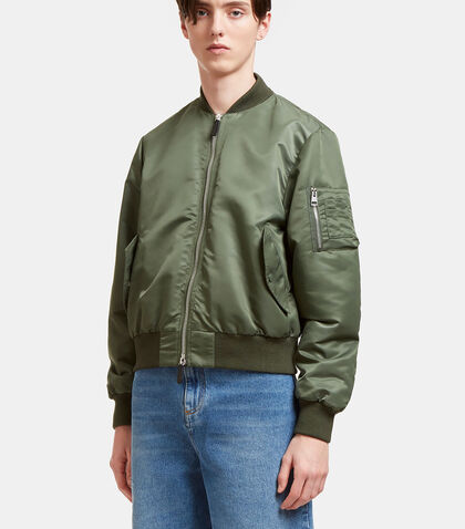 Satin Bomber Jacket by J.W. Anderson