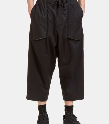 MIL SPC Dropped Crotch Cropped Pants by Y-3