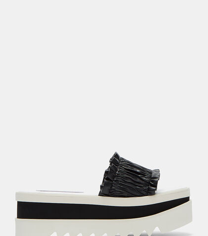 Pamir Frilled Platform Sandals by Stella McCartney
