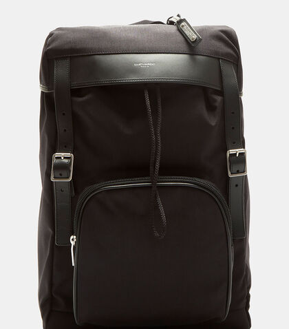 Moon Canvas Hunting Backpack by Saint Laurent