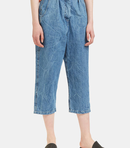 Women's Big Pant Jeans in Blue by Anntian