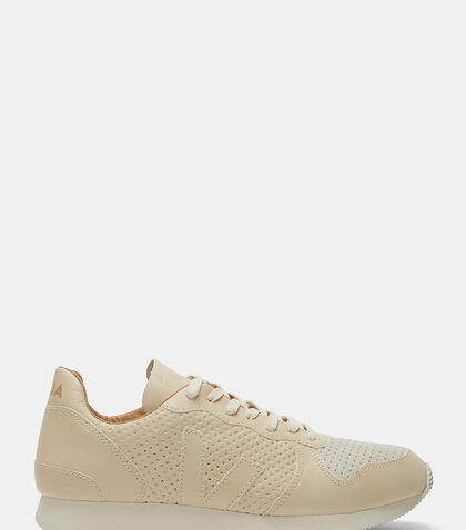 Holiday Low-Top Perforated Leather Sneakers by Veja