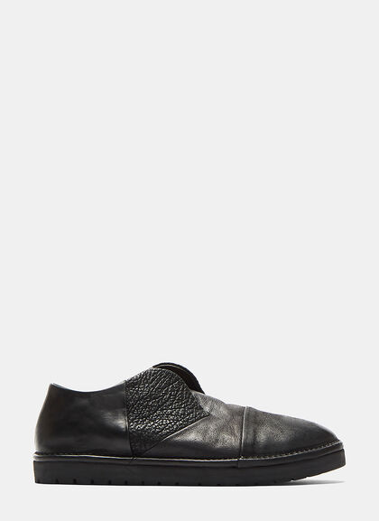 Buy Sancrispa Alta Slip-On Leather Loafers by Marsèll men clothes online