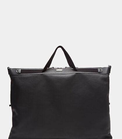 Large Flat Leather Shopper Bag by Saint Laurent