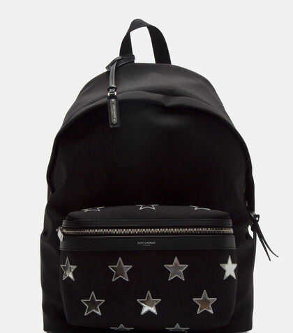 Classic City California Stars Backpack by Saint Laurent