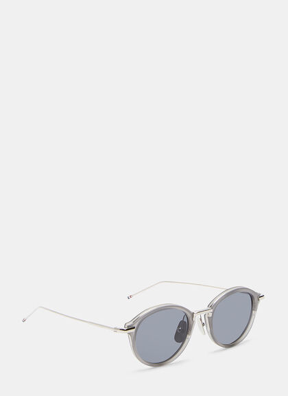 Buy Round Sunglasses by Thom Browne men clothes online