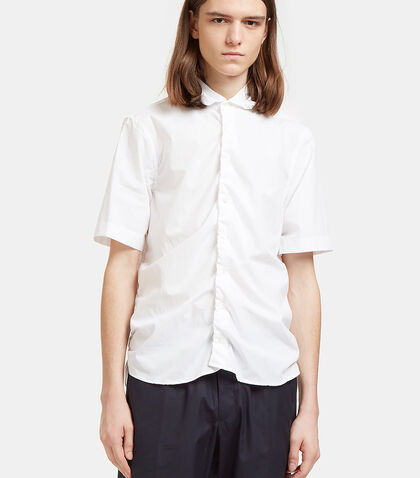 Ruched Seam Short Sleeved Shirt by Marni