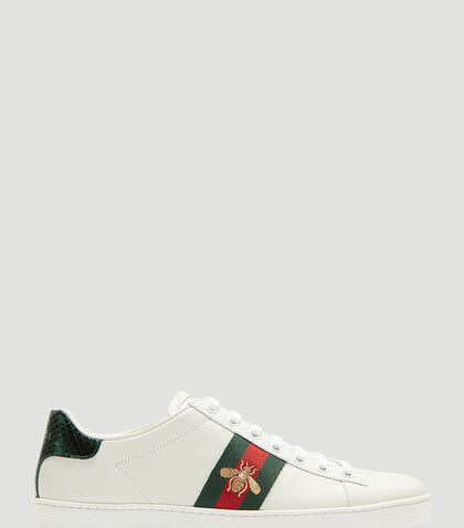 Ace Bee Embroidered Sneakers by Gucci
