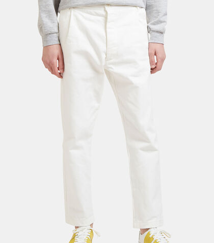 Cropped Straight Leg Jeans by Sunnei