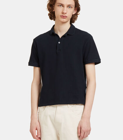 Short Sleeved Polo Shirt by Olderbrother