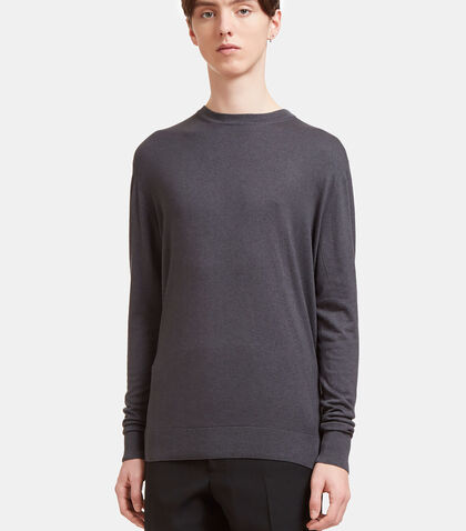 lncc male crew neck long sleeved top