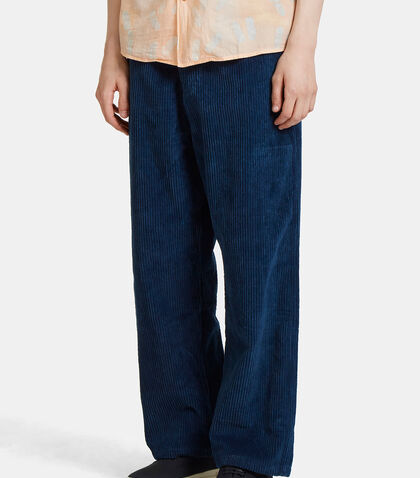 Bela Cropped Corduroy Pants by Story Mfg.