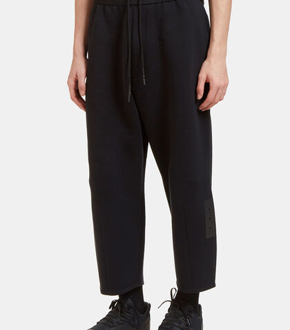 Oversized Dropped Crotch Track Pants by Von Sono