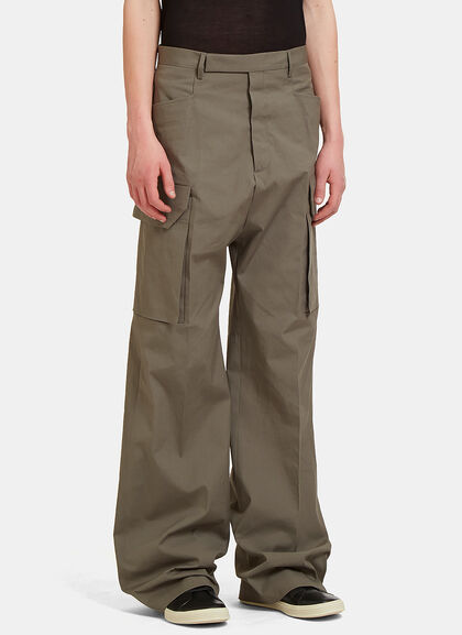 Buy Tailored Cargo Pants by Rick Owens men clothes online