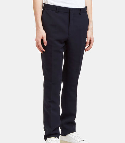 Technical Textured Slim Leg Pants by Fendi