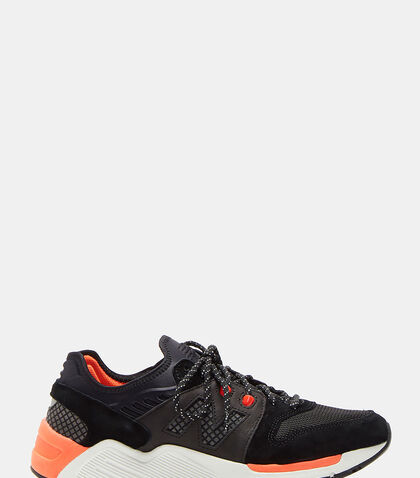 009 Mesh Leather Sneakers by New Balance