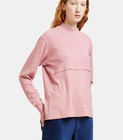 Lapped Rib Sweater by Eckhaus Latta