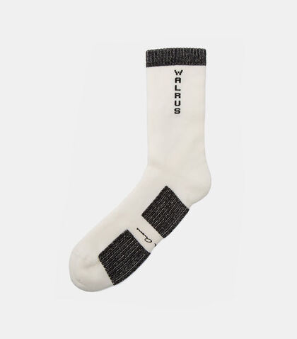 Walrus Two-Tone Ankle Length Socks by Rick Owens
