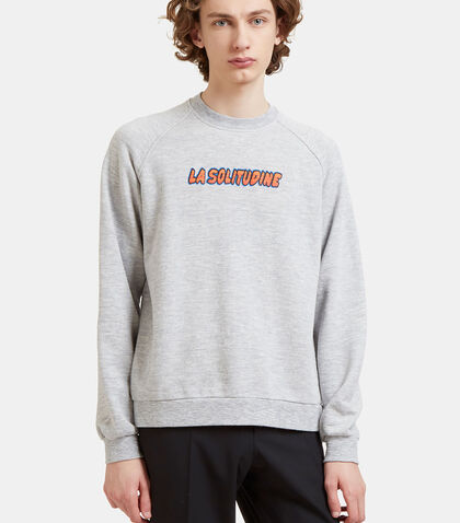 La Solitudine Crew Neck Sweater by Sunnei