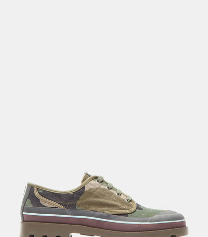 Camouflage Low-Top Sneakers by Valentino