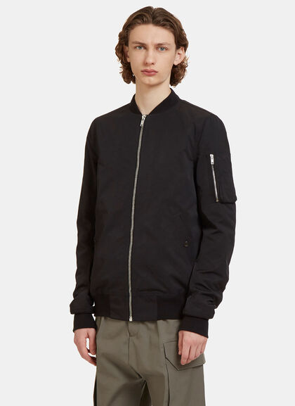 Buy Woven Bomber Jacket by Rick Owens Drkshdw men clothes online