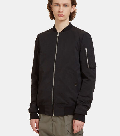 Woven Bomber Jacket by Rick Owens Drkshdw