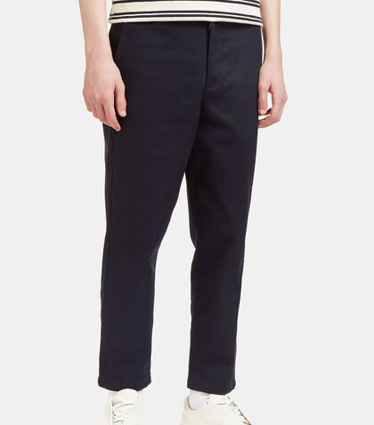 Angus H Twill Cropped Pants by Acne Studios