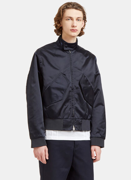 Buy Mito Technical Satin Patch Pocket Jacket by Acne Studios men clothes online