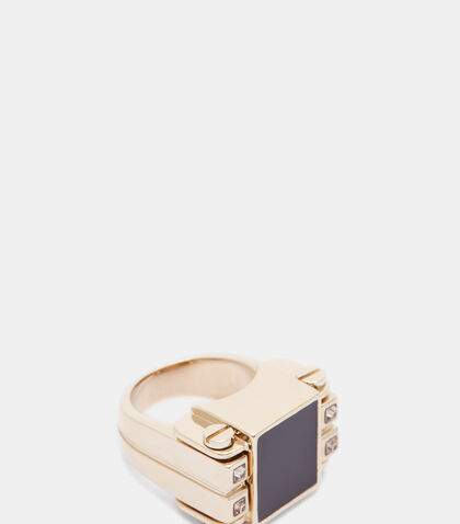 Lanvin Square Ring by Lanvin